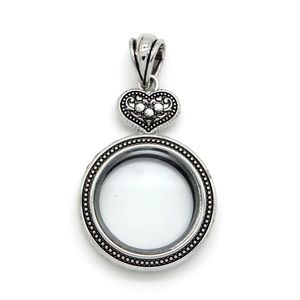 Jewelry - NEW Floating Locket Style with Choice of 5 Charms!